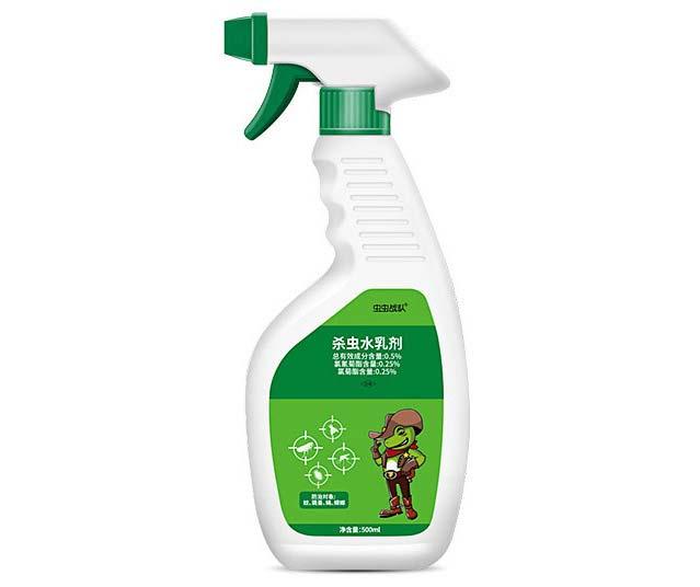 虫虫战队杀虫水乳剂灭蚊虫