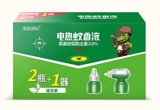 虫虫战队电热蚊香液